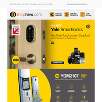 The All-New Yale YDM2107 | Digital Lock with Anti-Panic