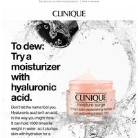 Want dewy skin?