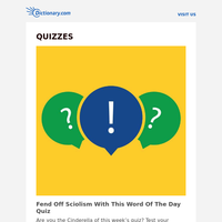 Fend Off Sciolism With This Word Of The Day Quiz