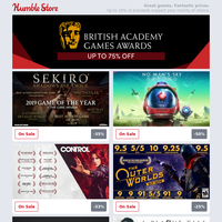 Save up to 75% on BAFTA Game Awards nominees + Mount & Blade II: Bannerlord out now!