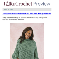 27+ Shawls and Ponchos That Are HOURS of Fun!