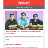 Tiger Global acquires stake in TikTok owner ByteDance; Swiggy establishes COVID-19 relief fund for its delivery partners and their families