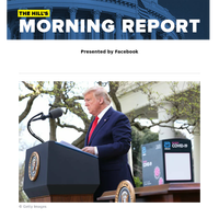 The Hill's Morning Report - Presented by Facebook - Trump hails federal, state progress against rising coronavirus infections | FDA approves two malaria drugs as therapies for patients with COVID-19 despite scant evidence they work | Three in every