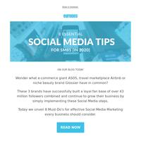 8 Must-Do'sfor Effective Social Media Marketing [In 2020]