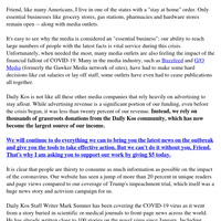 The future of Daily Kos (please read)