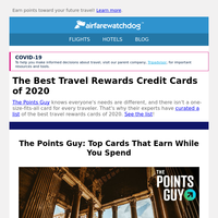 These Experts Picked the Top Travel Cards of 2020