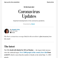 Coronavirus Updates: A solution that could help reopen the U.S.