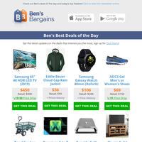 Ben's Best Deals: $36 EB Jacket - $450 Samsung 65\