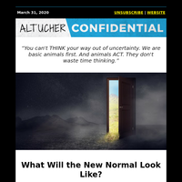 What Will the New Normal Look Like?