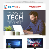 Ready to Ship🔥Tech Deals from Dell, LG, HP and More, Get it Now!