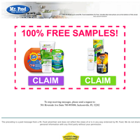 Do you want FREE brand name samples?