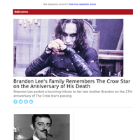 Brandon Lee's Family Remembers The Crow Star on the Anniversary of His Death