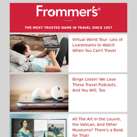 Travel Without Leaving Home Edition! Podcasts, Webcams, and More!