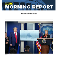 The Hill's Morning Report - Presented by Facebook - White House projects 100K-240K deaths by June; Trump braces for 'very, very painful two weeks' | House, Senate leaders differ on infrastructure spending in next round of economic recovery legis