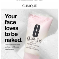 Your bare-faced essential.