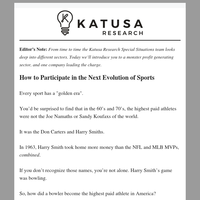 [Interview] How to Participate in the Next Evolution of Sports
