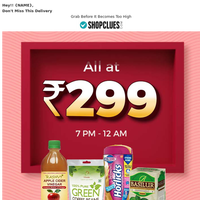 Today All Products At ₹299