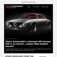 Motor Authority Daily Headlines
