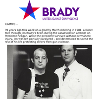 The NRA vs. Jim Brady