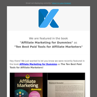 🔍 We are in Top Ten Best Paid Tools for Affiliate Marketers