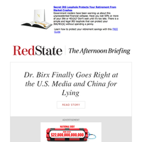 PM Briefing: Dr. Birx Finally Goes Right at the U.S. Media and China for Lying