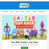 Easter TOY SALE: Up to 60% off!