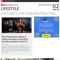 SA musicians combat Covid-19   Boyz II Men SA tour   NAF goes virtual Q&A