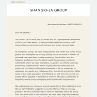 CEO Letter to Golden Circle Members