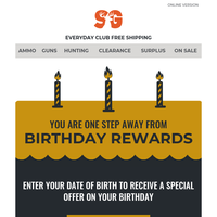 Can We Send You A Birthday Gift?
