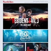 Save up to 90% off Gearbox games + Build your own Codemasters Bundle + Resident Evil 3 launches tomorrow!