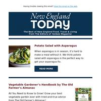 Homemade Fish Cakes, Potato Salad with Asparagus & 10 Essential New England Lighthouses
