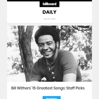 Bill Withers' 15 Greatest Songs