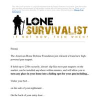 Free gift for gun lovers