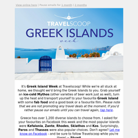 Discover The Greek Islands (from home)