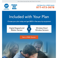 Update Your Security: $100 Visa Gift Card Included with Plan