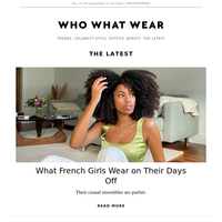 7 casual outfits French girls wear on their days off