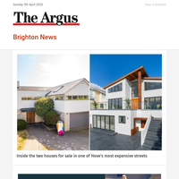 Brighton News: Inside the two houses for sale in one of Hove's most expensive streets