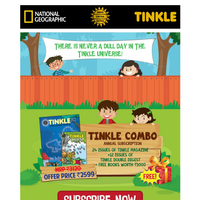 Here is a gift from Tinkle