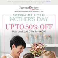 50% Off Mother's Day Preview Sale!