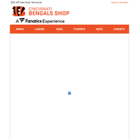 Stay Comfortable in Bengals Loungewear + 30% OFF!