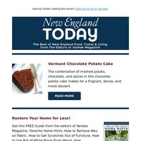Vermont Chocolate Potato Cake, Joanne Chang's Pork Dumplings & How to Make String Easter Eggs