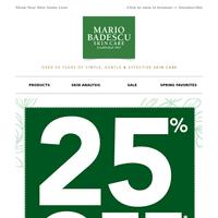 Save 25%! Stunning Skin Awaits