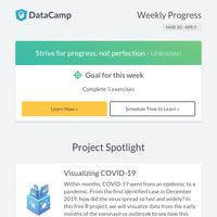 Free project: Visualizing COVID-19 Data