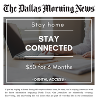 We're in this together, North Texas. Stay connected at a discounted rate
