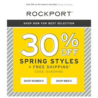 Spring Shoe Sale  🌼👟🌷👞🌸