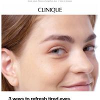 Multi-tasking moisture for eyes.