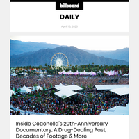 Inside Coachella's 20th-Anniversary Documentary: A Drug-Dealing Past, Decades of Footage & More