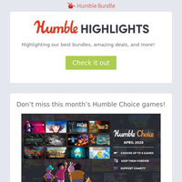 This week at Humble: Up to 75% off Bandai Namco games, grab the Stardock bundle and more