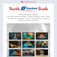 🚀 Journey to the stars with a bundle of Stardock strategy games!