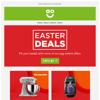 Our Easter Deals are STILL ON. Don't miss out!